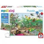 Puzzle  Schmidt-Spiele-56293 Entdecke die Welt der Insekten (in German)