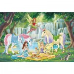 Puzzle  Schmidt-Spiele-56304 Picnic of the Elves