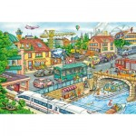 Puzzle  Schmidt-Spiele-56309 Fire and Rescue Team