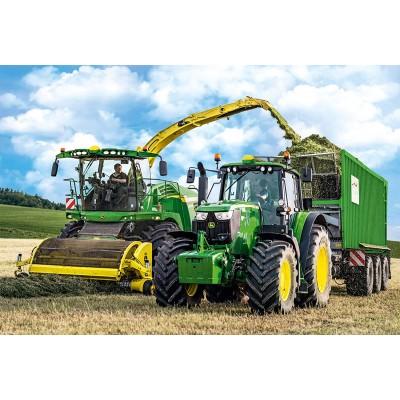 Puzzle Schmidt-Spiele-56315 John Deere - Tractor