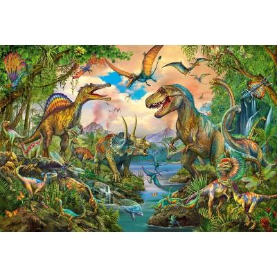 Puzzle Schmidt-Spiele-56332 Wild Dinos