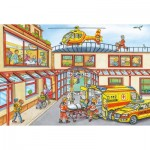 Puzzle  Schmidt-Spiele-56352 Rescue Helicopter