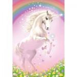 Puzzle  Schmidt-Spiele-56354 Pink Unicorn