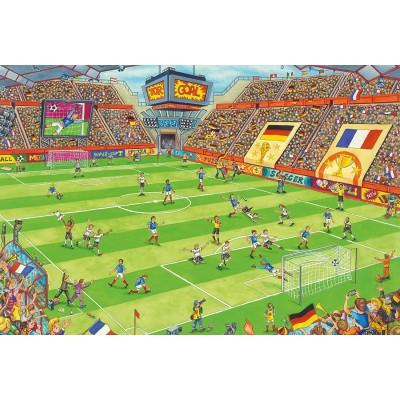 Puzzle Schmidt-Spiele-56358 Football Stadium