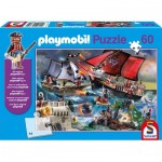 Puzzle  Schmidt-Spiele-56382 Playmobil Pirates