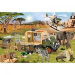 Puzzle  Schmidt-Spiele-56384 Animals Rescue