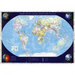 Schmidt-Spiele-57041 Jigsaw Puzzle - 2000 Pieces - Our World