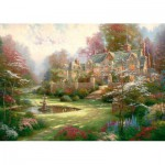 Schmidt-Spiele-57453 Jigsaw Puzzle - 2000 Pieces - The House in the Country