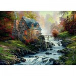 Schmidt-Spiele-57486 Jigsaw Puzzle - 1000 Pieces - The Old Mill