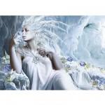 Schmidt-Spiele-58166 Jigsaw Puzzle - 1000 Pieces - Ice Fairy