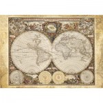 Puzzle  Schmidt-Spiele-58178 Historic World Map