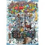 Puzzle  Schmidt-Spiele-58207 Flying Machine