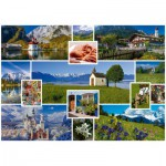 Puzzle  Schmidt-Spiele-58222 In the Mountains