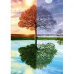 Puzzle  Schmidt-Spiele-58223 Seasons Tree