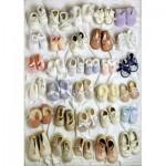 Puzzle  Schmidt-Spiele-58224 Baby Shoes