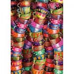 Puzzle  Schmidt-Spiele-58228 Colorful Cups