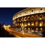 Puzzle  Schmidt-Spiele-58235 Colosseum at night
