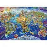 Puzzle  Schmidt-Spiele-58288 Discover Our World