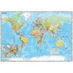 Puzzle  Schmidt-Spiele-58289 World Map in German
