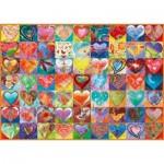 Puzzle  Schmidt-Spiele-58295 Heart To Heart