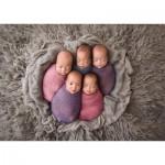 Puzzle  Schmidt-Spiele-58301 Five Babies