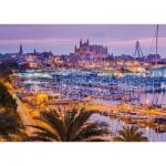 Puzzle  Schmidt-Spiele-58302 Old Town and Port, Palma de Mallorca