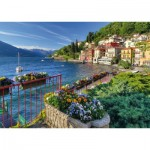 Puzzle  Schmidt-Spiele-58303 View of Lake Como