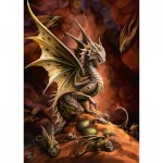 Puzzle  Schmidt-Spiele-58309 Dragon of the Desert