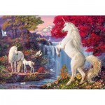 Puzzle  Schmidt-Spiele-58312 Triumph of the Unicorns