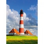 Puzzle  Schmidt-Spiele-58319 Westerhever Lighthouse