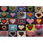Puzzle  Schmidt-Spiele-58327 Heart for Madalene
