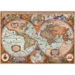 Puzzle  Schmidt-Spiele-58328 Antique World Map