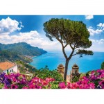 Puzzle  Schmidt-Spiele-58329 View over the Amalfi Coast