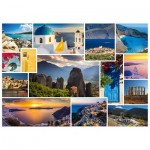 Puzzle  Schmidt-Spiele-58338 Have a holiday in ... Greece