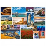 Puzzle  Schmidt-Spiele-58339 Have a holiday in ... Italy