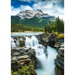 Puzzle  Schmidt-Spiele-58360 Athabasca Waterfall, Canada