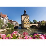 Puzzle  Schmidt-Spiele-58397 Bamberg, Regnitz and Old Town Hall
