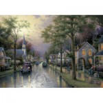 Schmidt-Spiele-58441 Jigsaw Puzzle - 1000 Pieces - Thomas Kinkade : The Waking