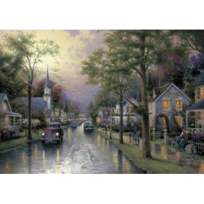 Schmidt-Spiele-58441 Jigsaw Puzzle - 1000 Pieces - Thomas Kinkade : The Waking