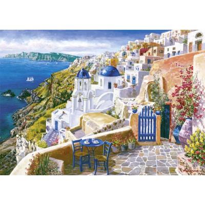 Schmidt-Spiele-58560 Jigsaw Puzzle - 1000 Pieces - Sam Park : Santorini