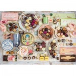 Puzzle  Schmidt-Spiele-58940 Nostalgic Chocolates