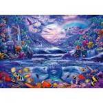Puzzle  Schmidt-Spiele-58945 Moonlight Oasis