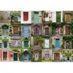 Puzzle  Schmidt-Spiele-58950 Collage - Doors