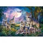 Puzzle  Schmidt-Spiele-58954 Wolves