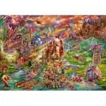 Puzzle  Schmidt-Spiele-58971 Dragons