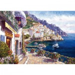 Puzzle  Schmidt-Spiele-59271 Sam Park: italy, Afternoon in Amalfi