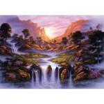 Puzzle  Schmidt-Spiele-59321 Jon Rattenbury, Fantastic Waterfall