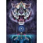 Puzzle  Schmidt-Spiele-59323 Chris Saunders, Snarling Tiger