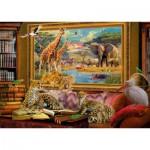 Puzzle  Schmidt-Spiele-59335 Jan Patrik Krasny, Coming to Life, The Savannah