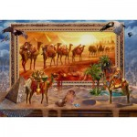 Puzzle  Schmidt-Spiele-59338 Jan Patrik Krasny Coming to Life, The Desert